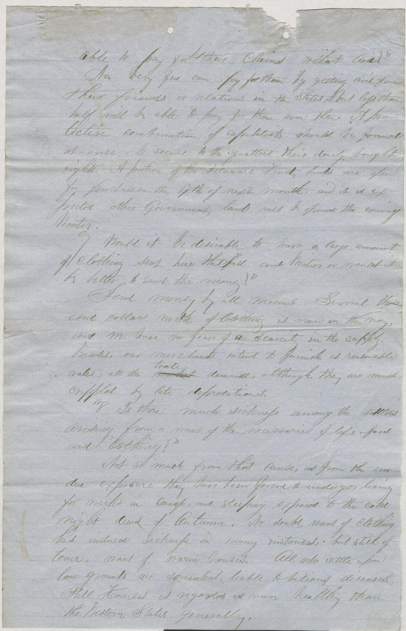 William Hutchinson to A. H. Shurtleff - p. 4