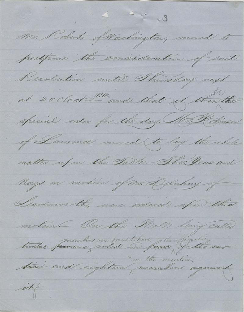 Topeka Constitutional Convention - p. 3