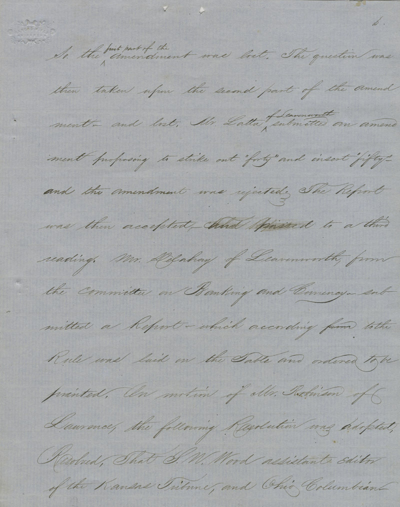 Topeka Constitutional Convention - p. 6