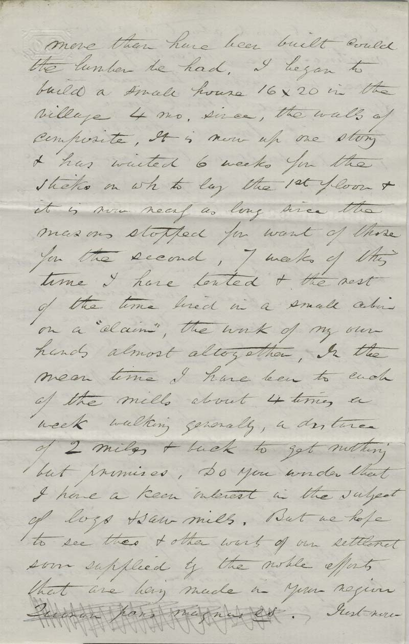 Ephriam Nute, Jr. to Reverend Edward Everett Hale - p. 3