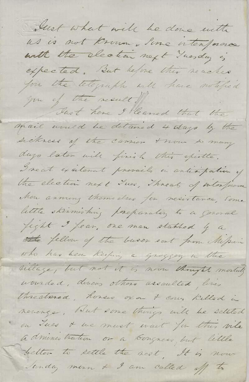 Ephriam Nute, Jr. to Reverend Edward Everett Hale - p. 7