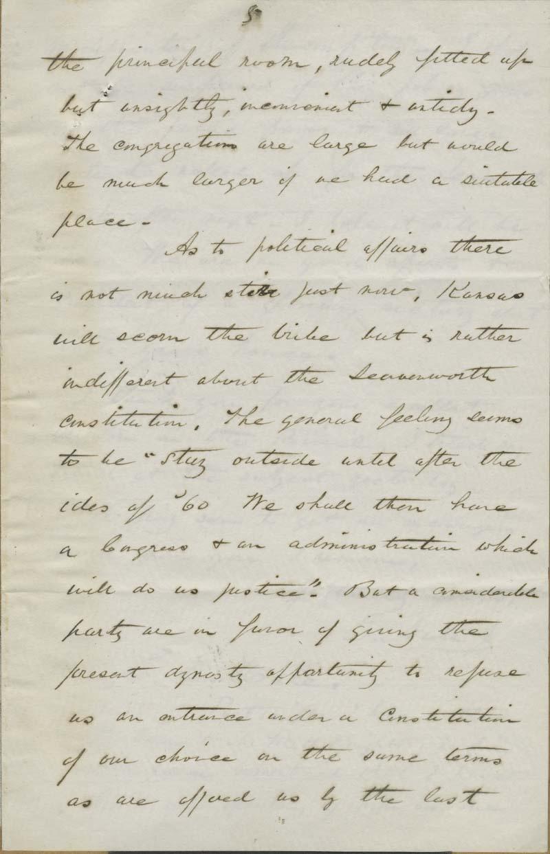Ephraim Nute to Edward Everett Hale - p. 5