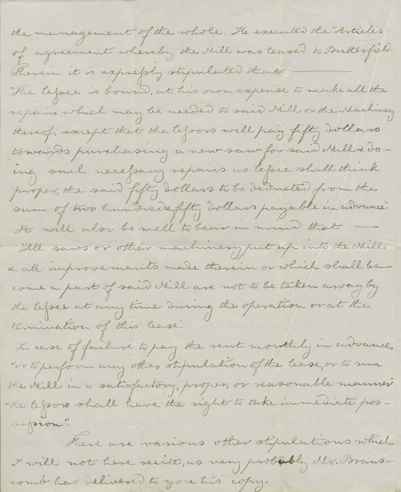 Thomas Hopkins Webb to Martin Franklin Conway - p. 2