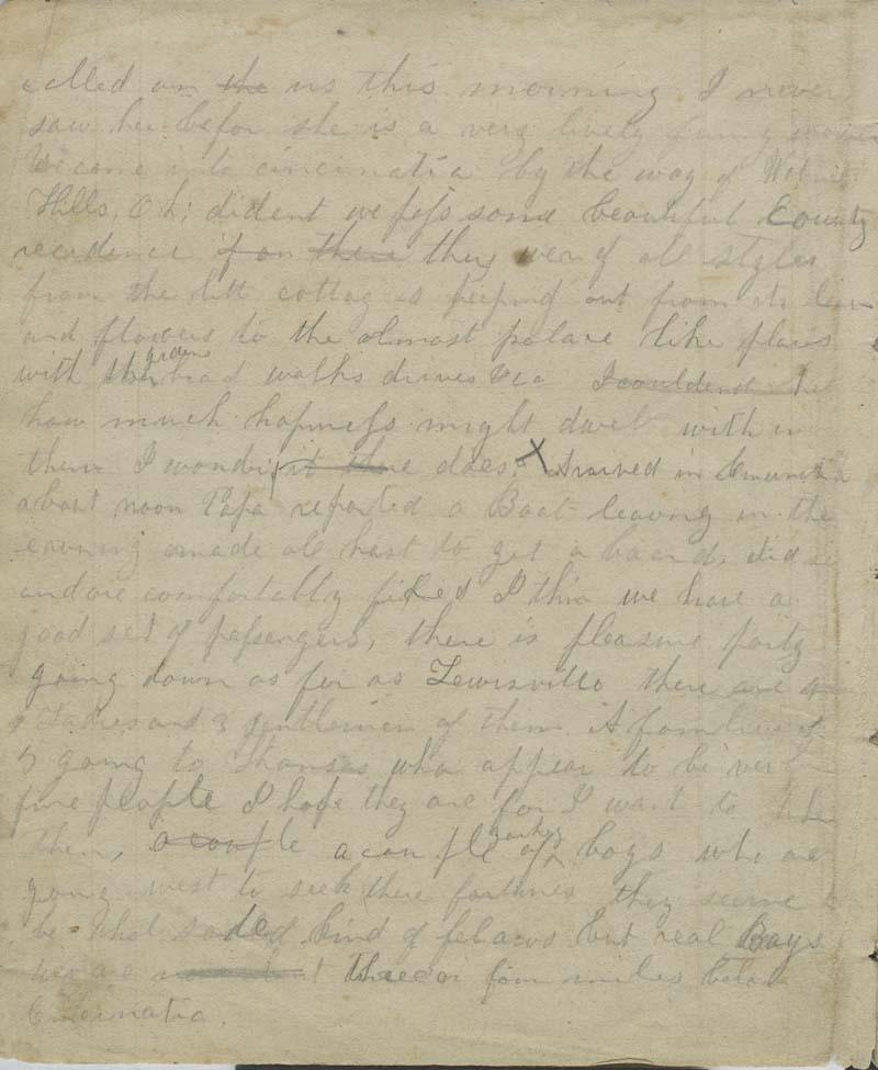 Anna Margaret Watson Randolph, diary - p. 2