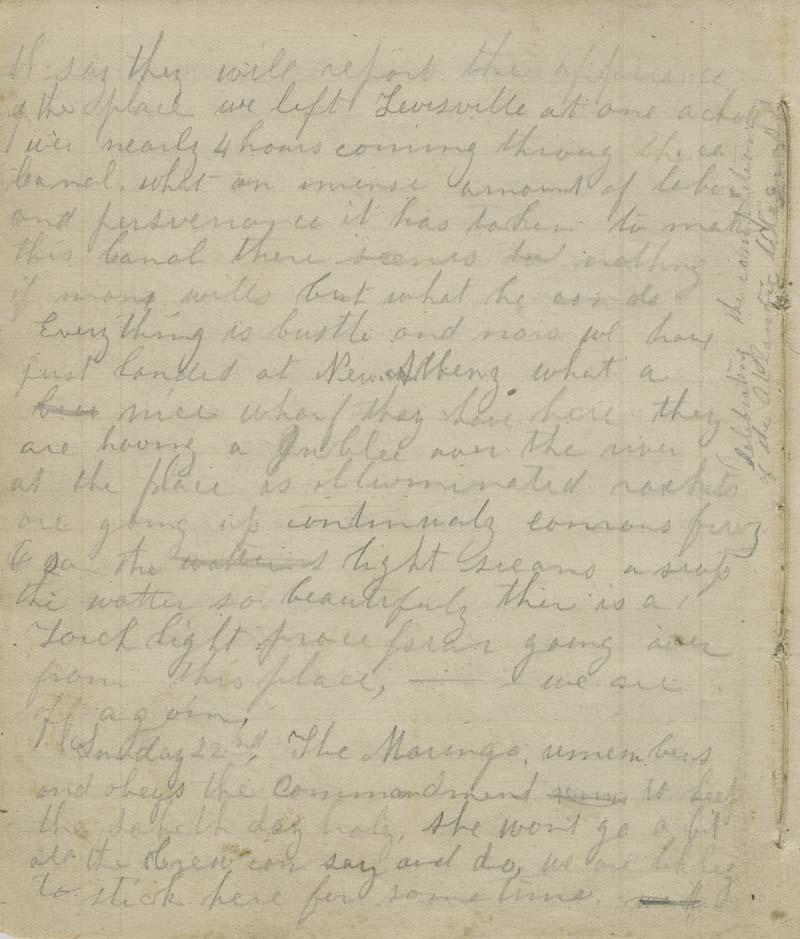 Anna Margaret Watson Randolph, diary - p. 6