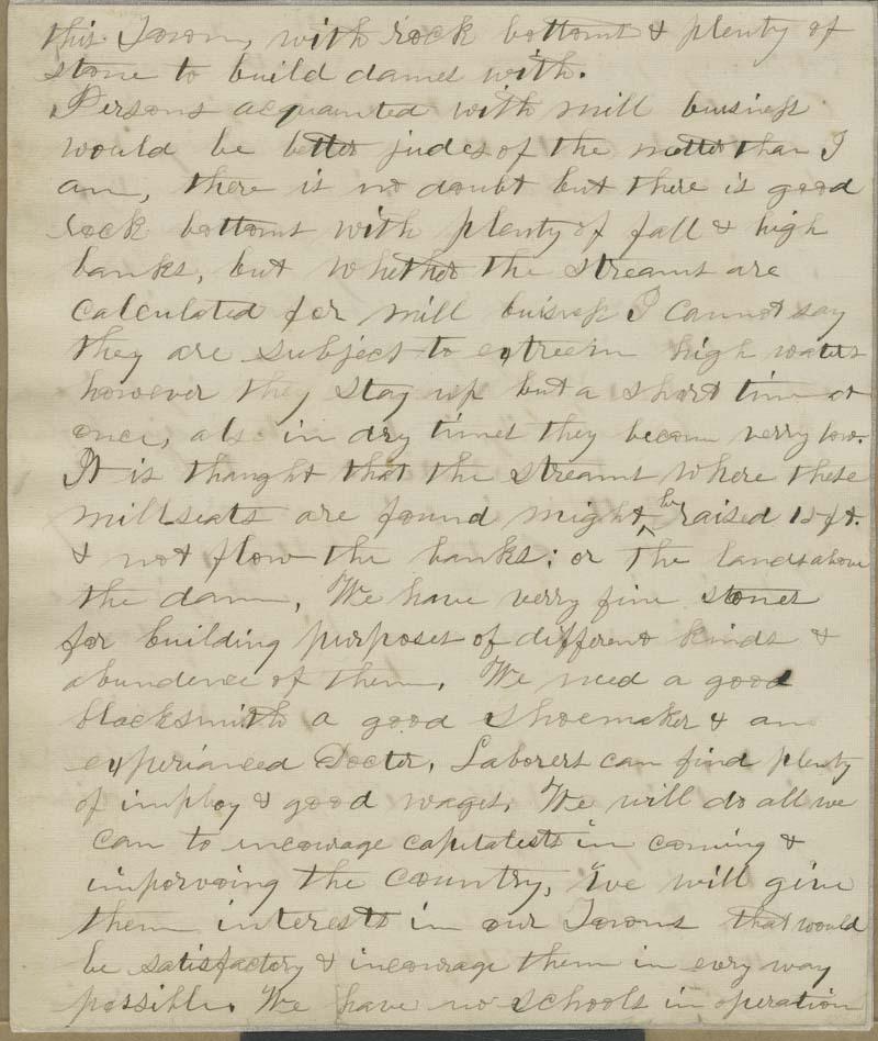 A. Finch to Thaddeus Hyatt - p. 5