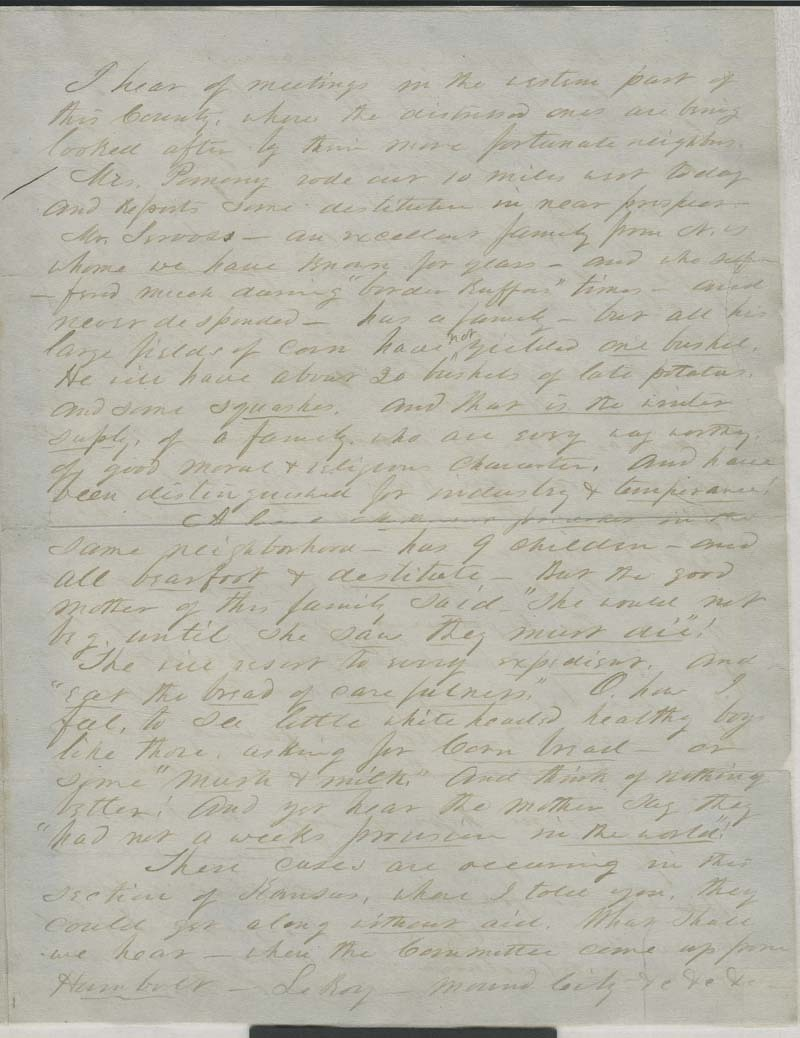 Samuel Clarke Pomeroy to Thaddeus Hyatt - p. 3