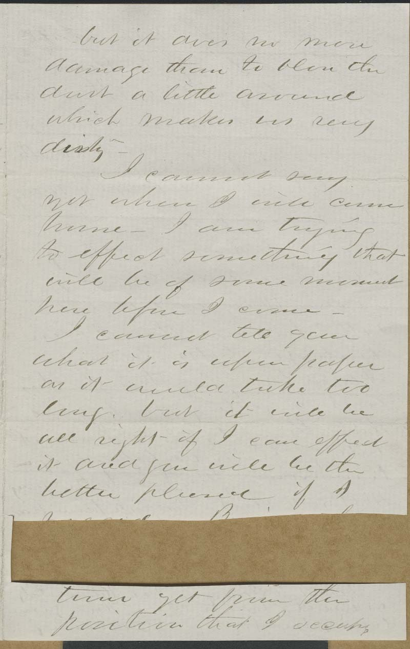 Cyrus Kurtz Holliday to Mary Dillon Holliday - p. 7