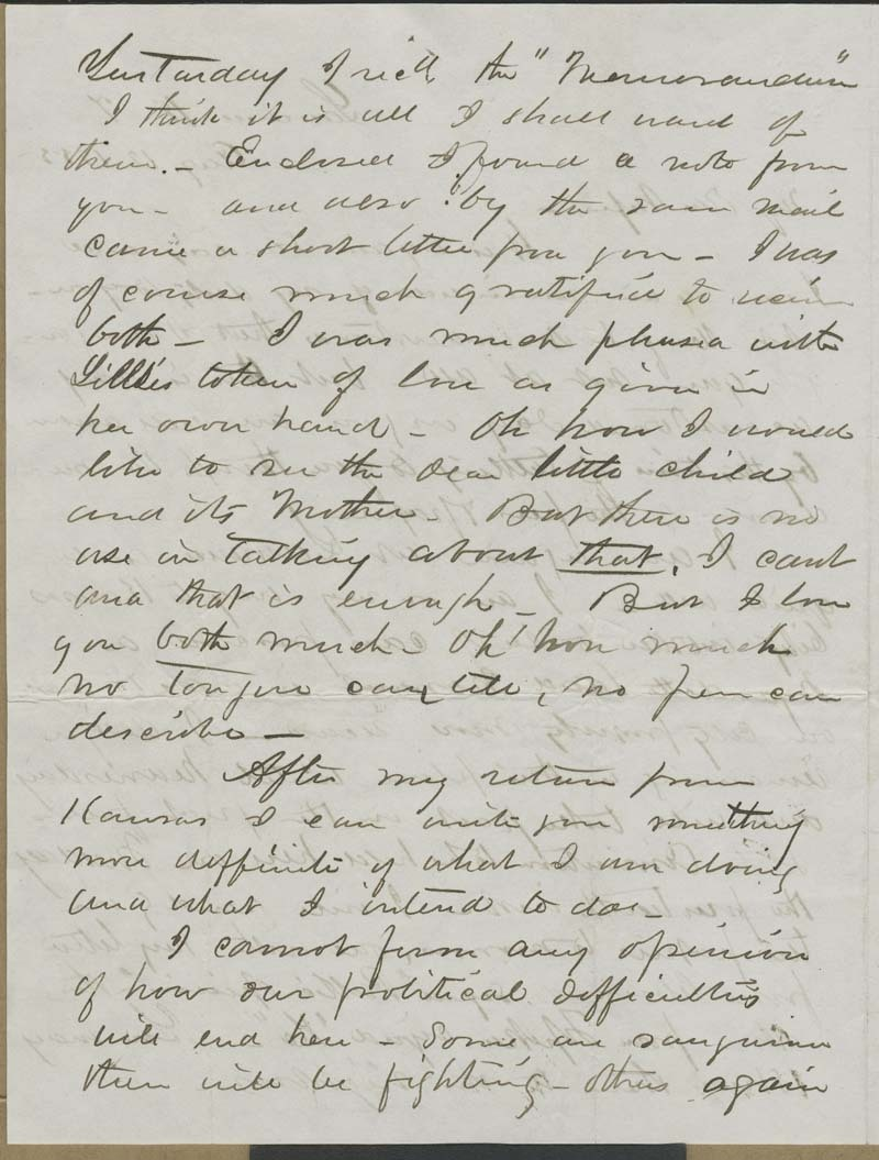 Cyrus Kurtz Holliday to Mary Dillon Holliday - p. 2