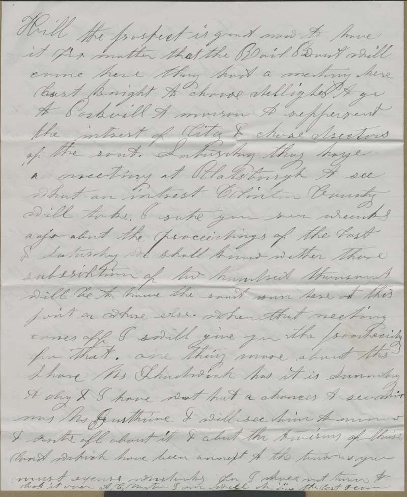 Albert C. Morton to Hiram Hill - p. 4
