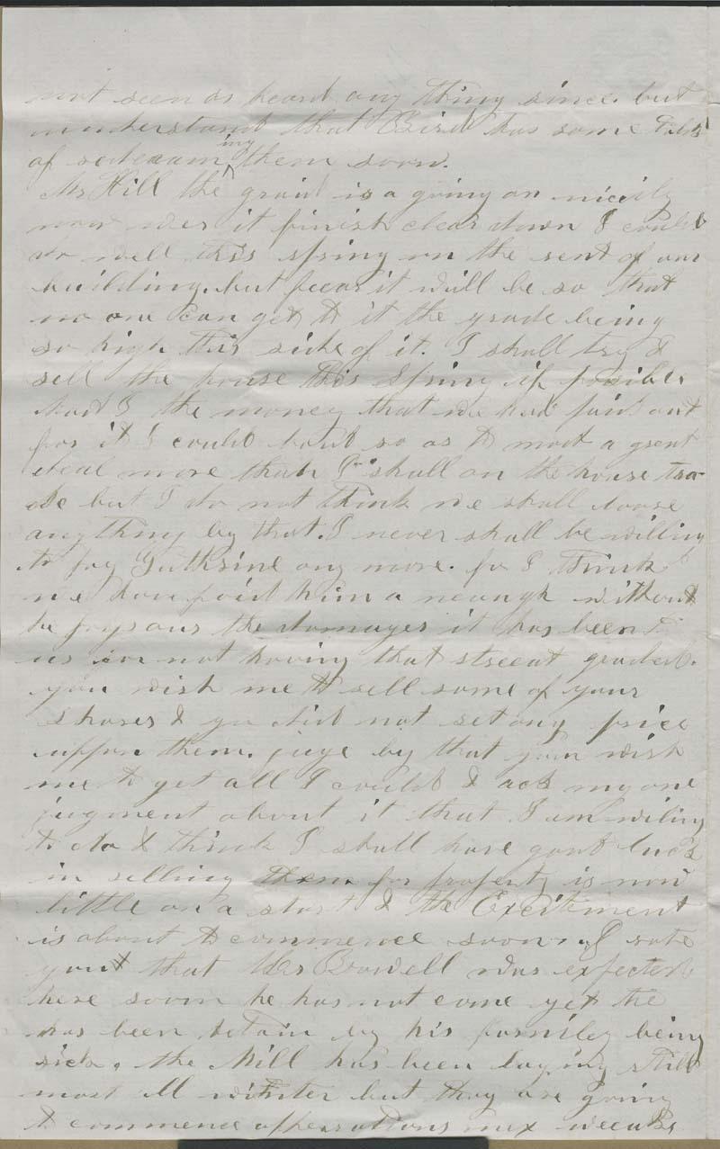 Albert C. Morton to Hiram Hill - p. 2