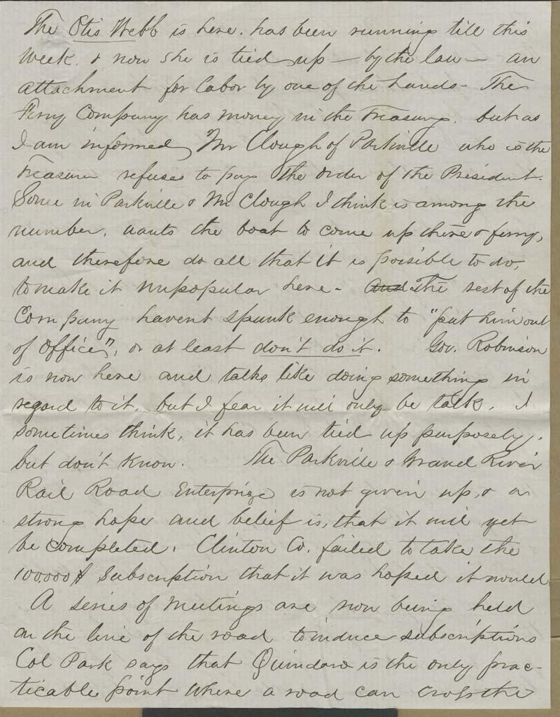 Charles Chadwick to Hiram Hill - p. 3