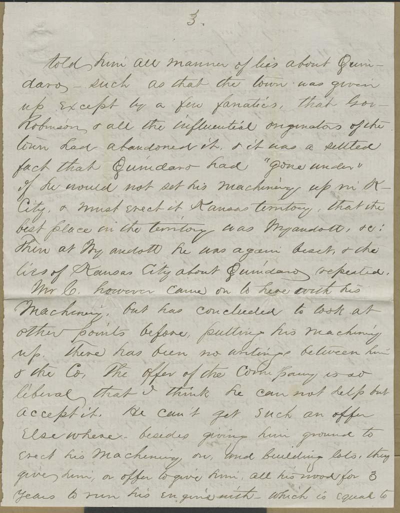 Charles Chadwick to Hiram Hill - p. 9