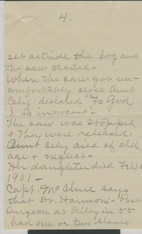 W. H. Mackey to George - p. 4