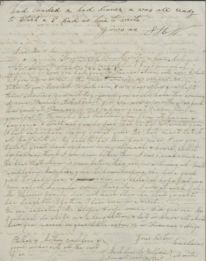 Lyman H. Whitney to  Isaac T. Goodnow - p. 4