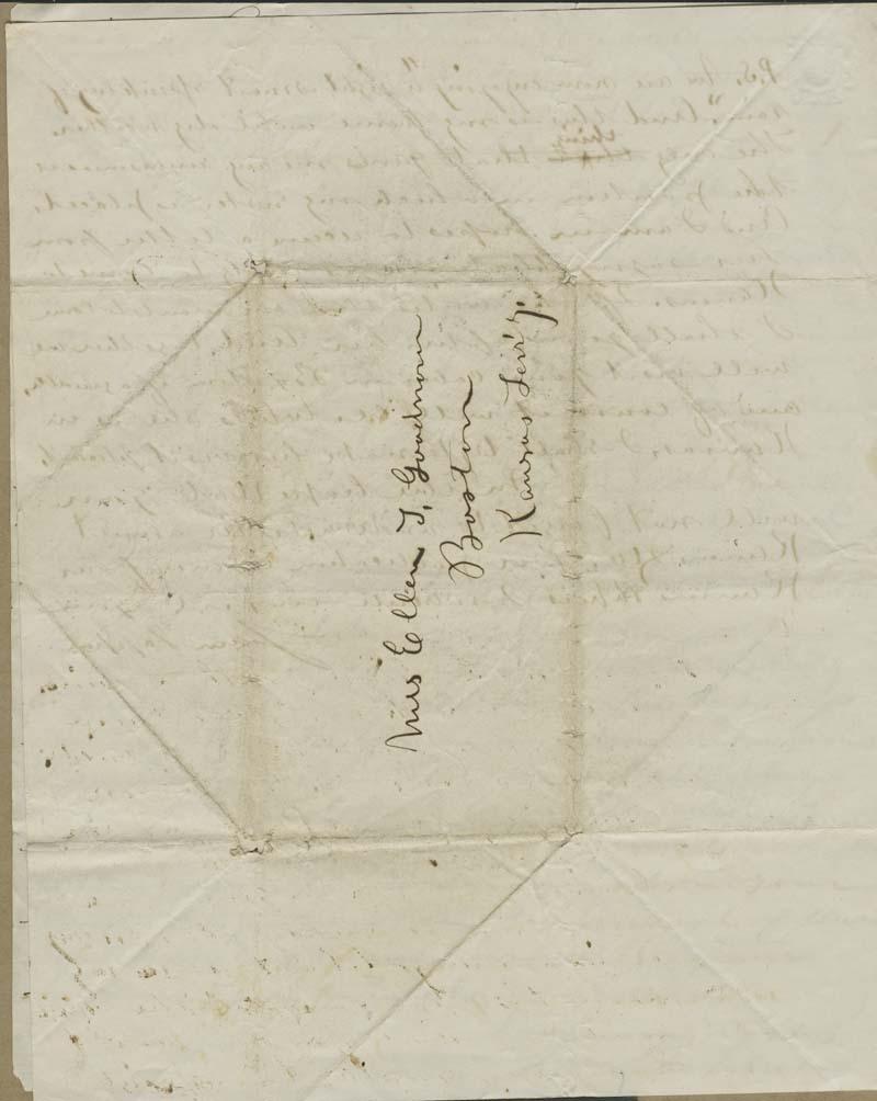 Samuel Tappan to Ellen Douglas Denison Goodnow - p. 4