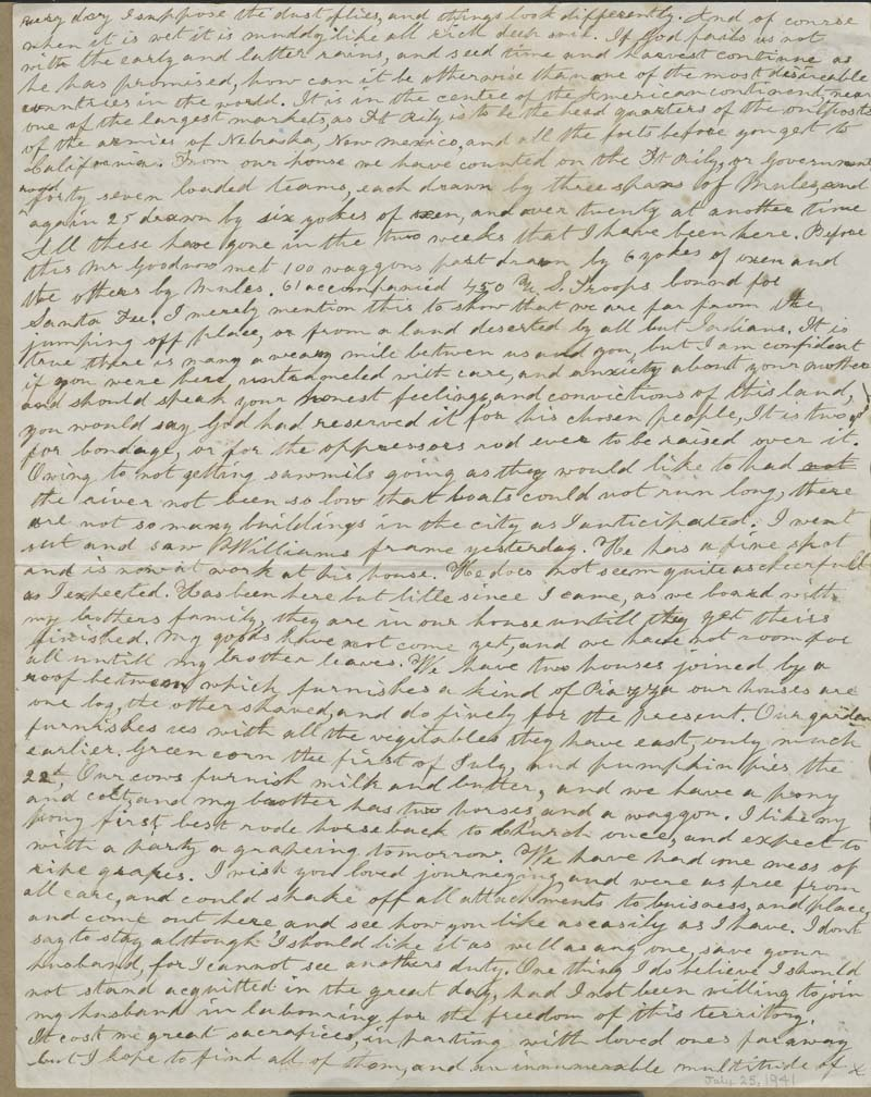 Ellen Douglas Denison Goodnow to Harriet Goodnow - p. 2