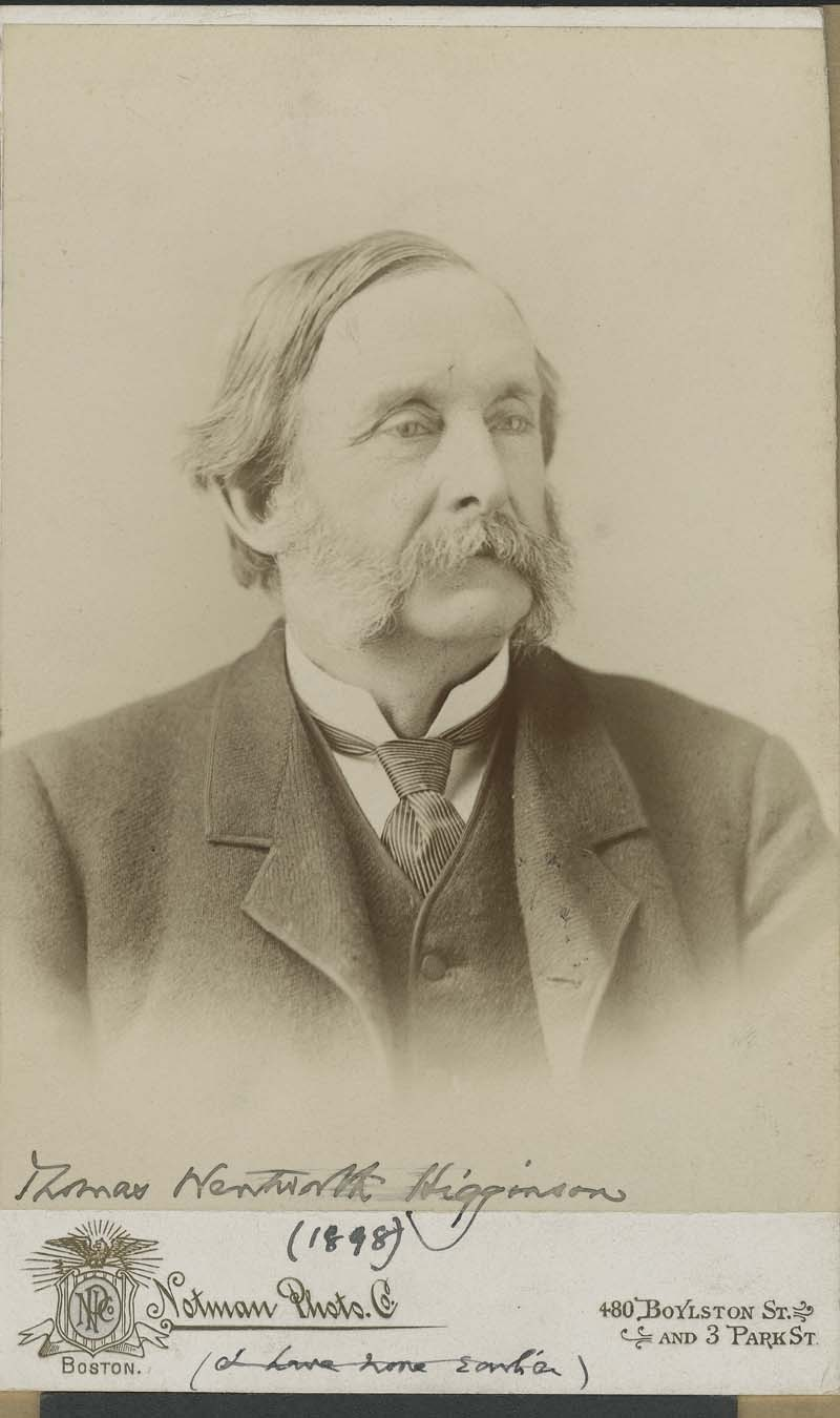 Thomas Wentworth Higginson