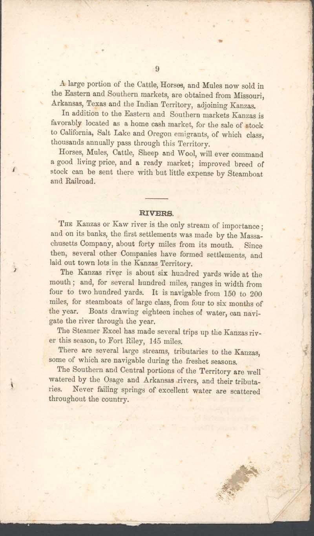 George Walter, History of Kanzas - p. 9