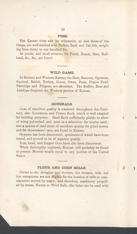 George Walter, History of Kanzas - p. 10
