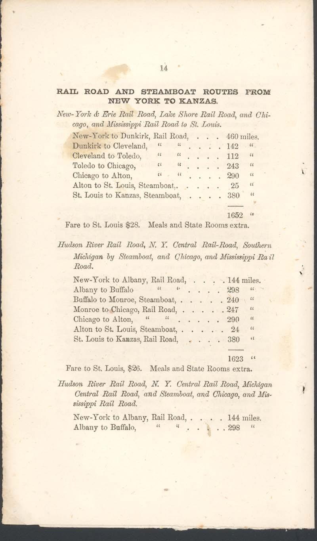 George Walter, History of Kanzas - p. 14