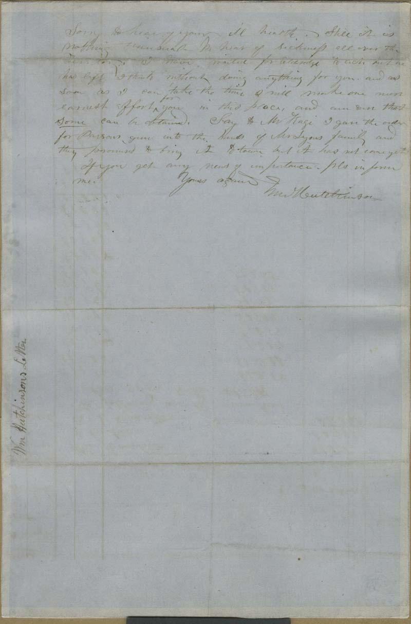 William Hutchinson to John Brown? - p. 2
