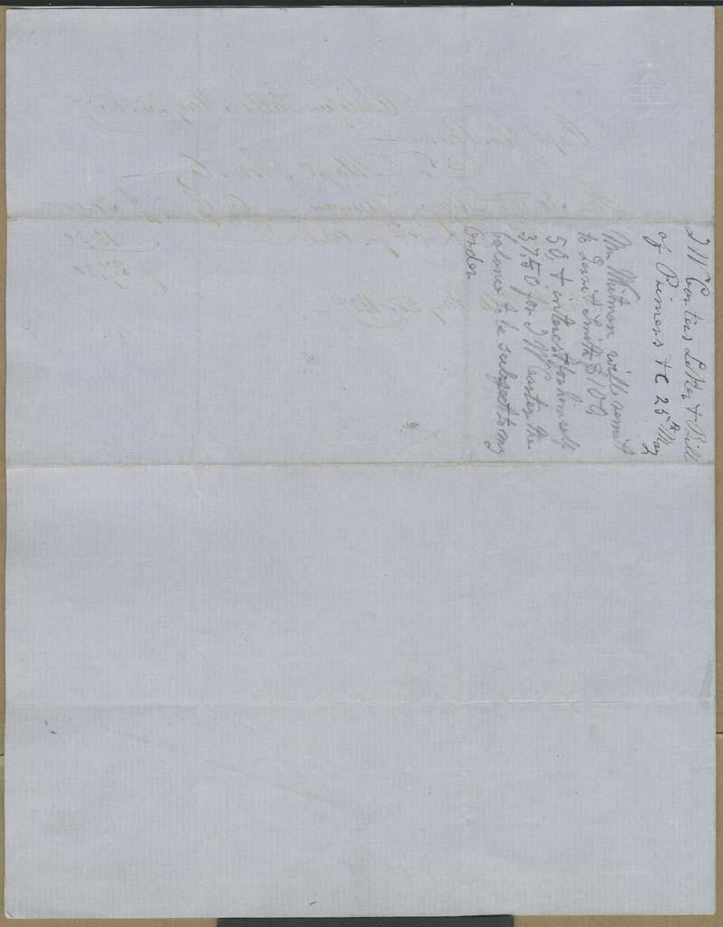 T.W. Carter to John Brown - p. 3