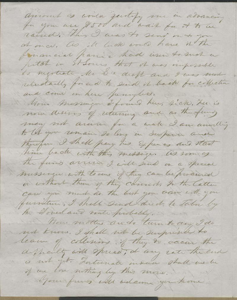 W. B. Edmonds [E. B. Whitman?] to Hawkins [John Brown] - p. 2