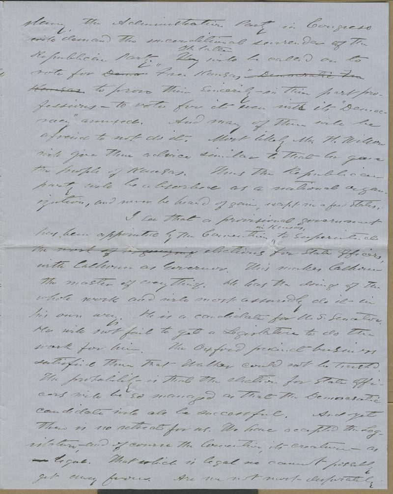 Martin Franklin Conway to Franklin B. Sanborn - p. 3