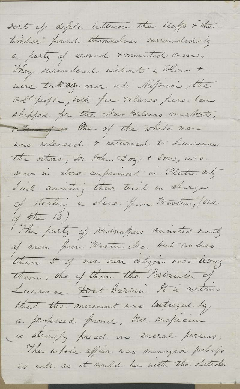 Ephraim Nute to [Unidentified recipient] - p. 2