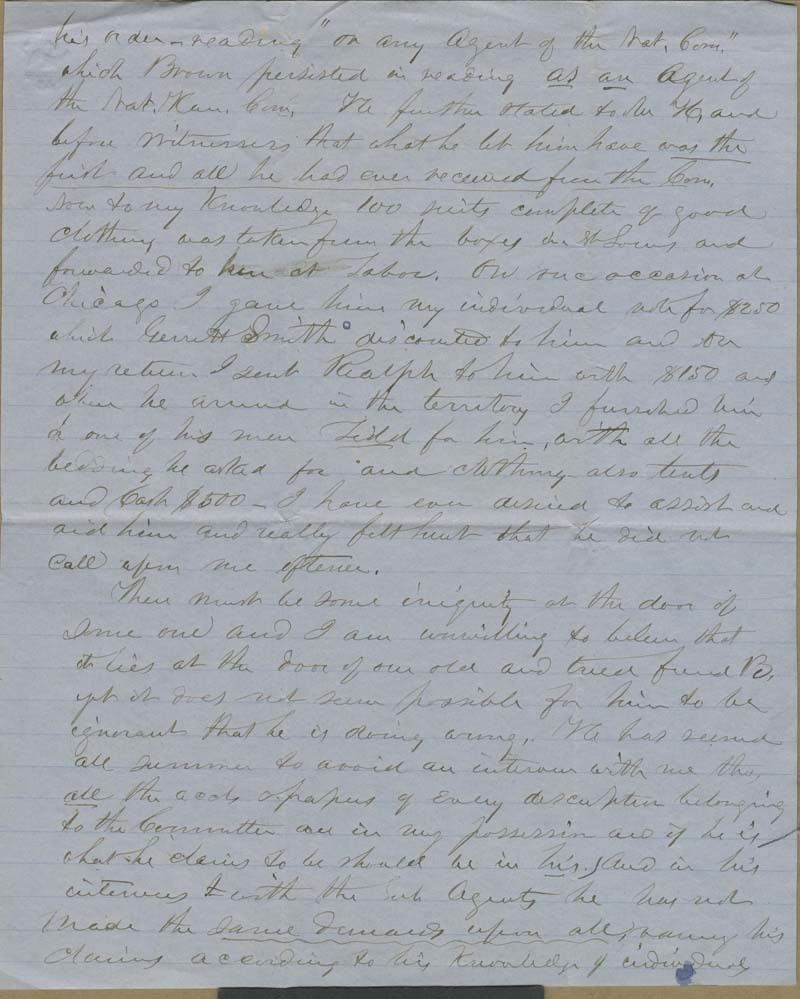 Edmund Burke Whitman to Franklin B. Sanborn - p. 5