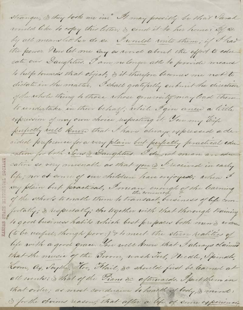 John Brown to Mary Brown - p. 2