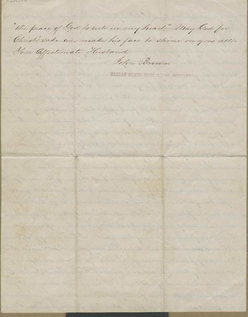 John Brown to Mary Brown - p. 4