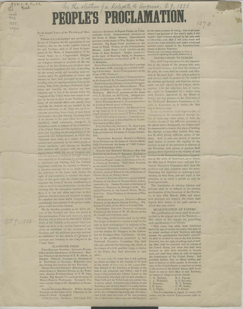 People's Proclamation