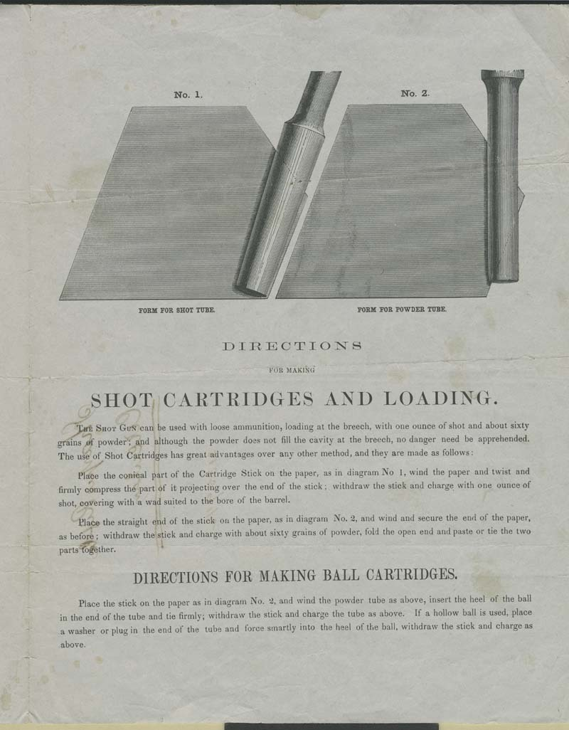 Sharps' Rifle Manufacturing Company, Advertisement - p. 3