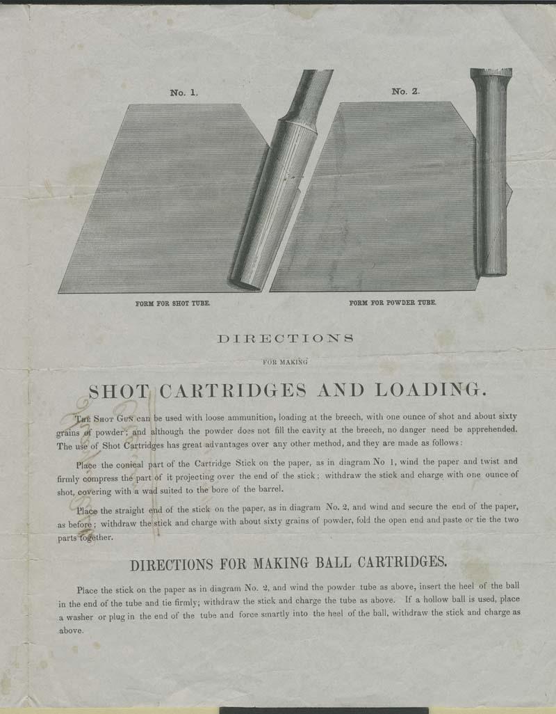 Sharps' Rifle Manufacturing Company, Advertisement - p. 3