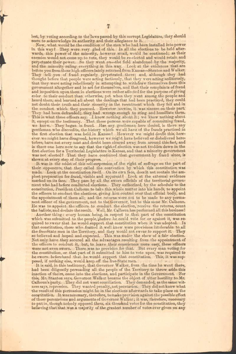 John Jordan Crittenden, speech on the Admission of the State of Kansas - p. 7