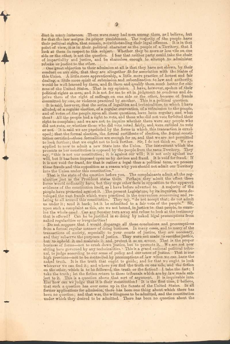 John Jordan Crittenden, speech on the Admission of the State of Kansas - p. 9