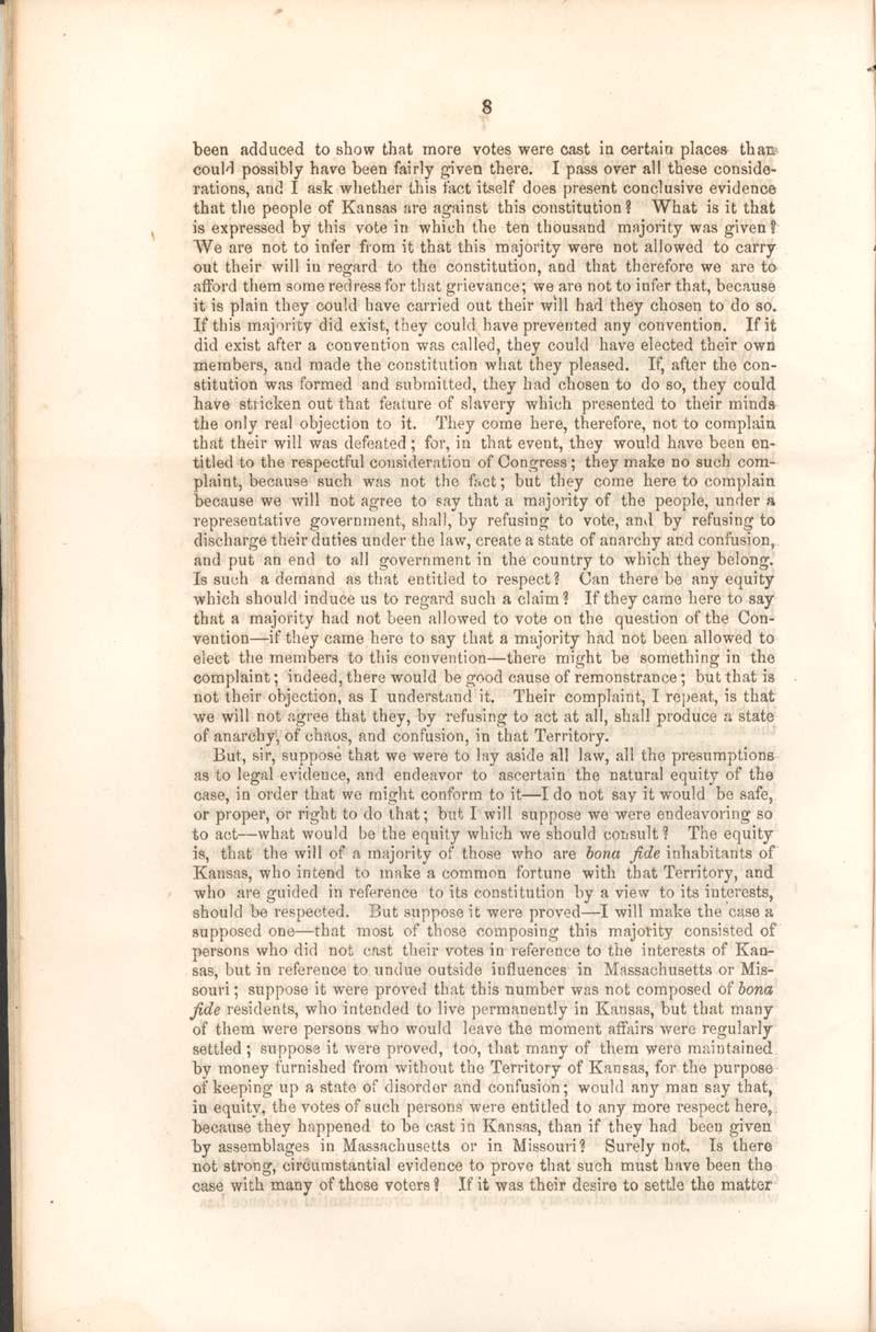 Robert Mercer Taliaferro Hunter, of Virginia, speech - p. 8