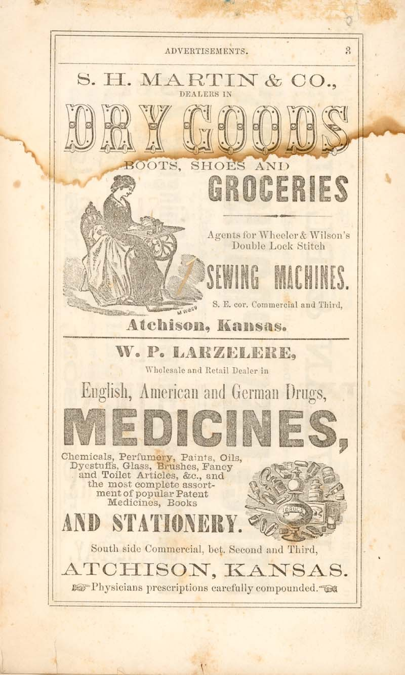 Atchison city directory and business mirror for 1859-60 - 3