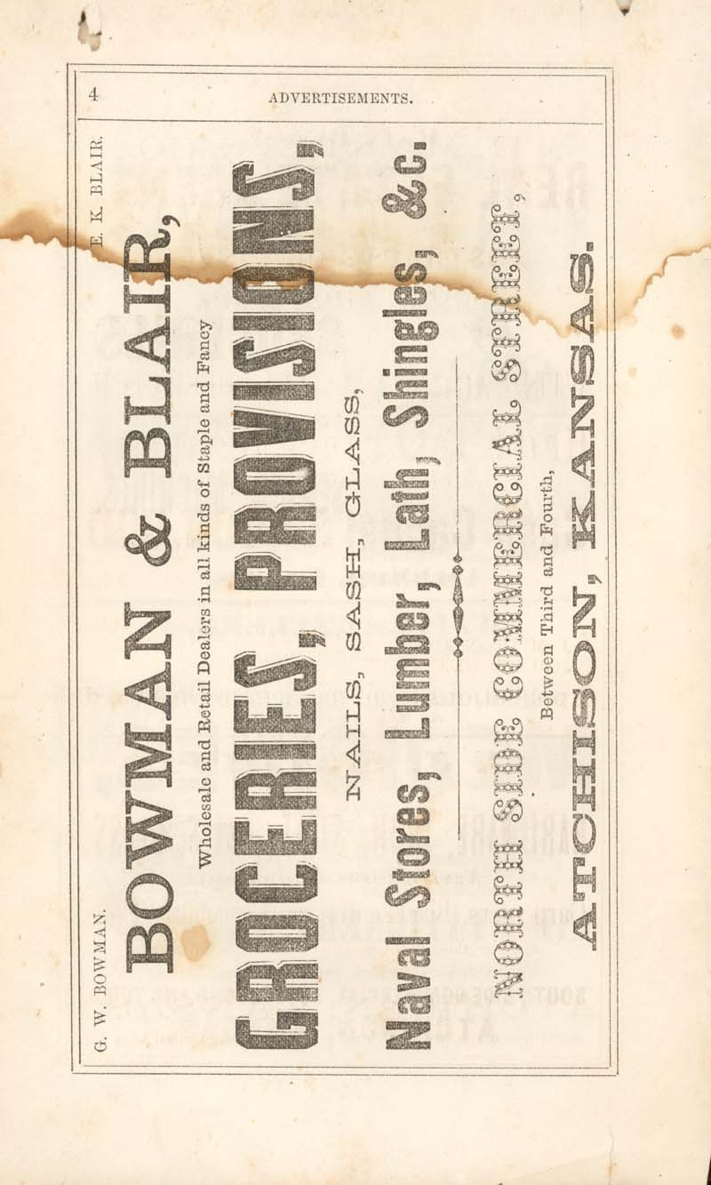 Atchison city directory and business mirror for 1859-60 - 4