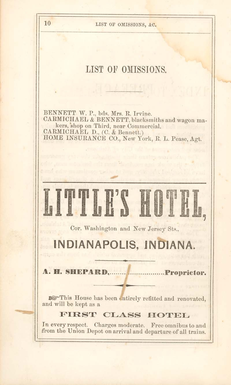 Atchison city directory and business mirror for 1859-60 - 10