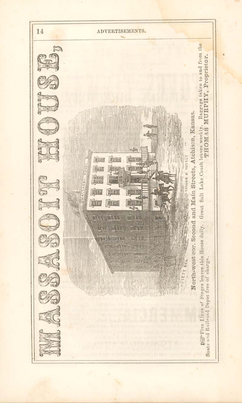 Atchison city directory and business mirror for 1859-60 - 14