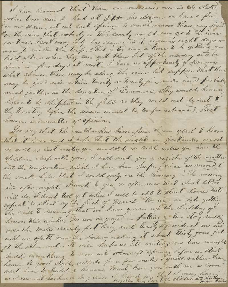 Joseph Harrington Trego to Alice Trego - p. 2