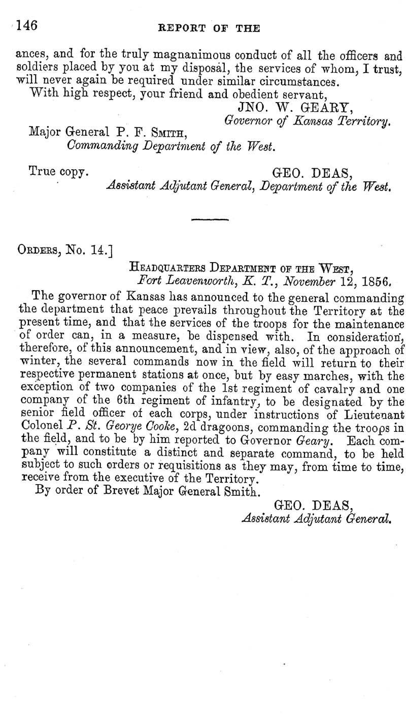 Jefferson Davis, Secretary of War; report - p. 120
