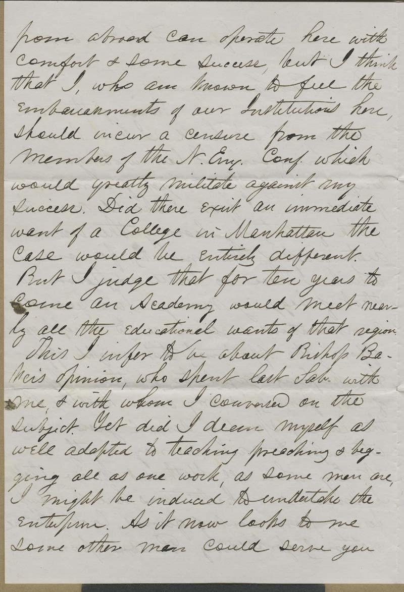 William R. Clark to Isaac Goodnow - p. 2