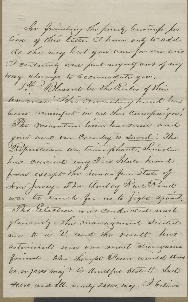 J. W. Robinson to Isaac Goodnow - p. 5