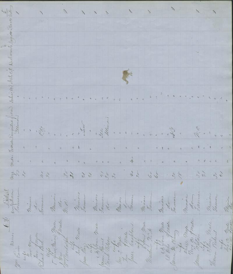 Territorial Census, 1855, District 6 - p. 5