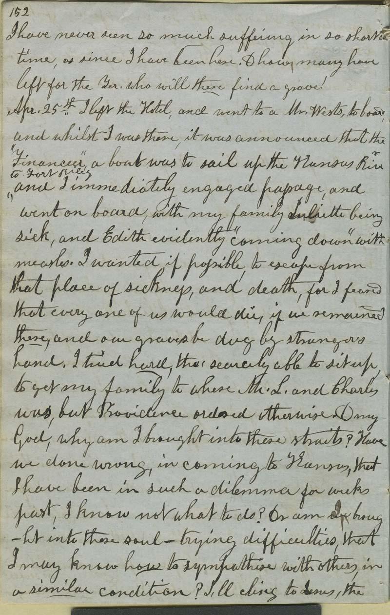 Julia Hardy Lovejoy's diary - p. 4