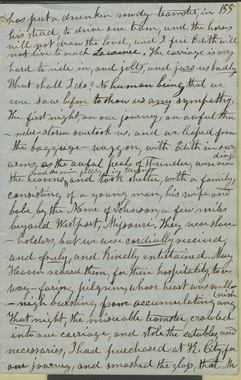 Julia Hardy Lovejoy's diary - p. 7